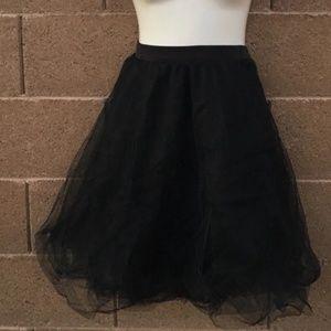 Charlotte russe tule skirt